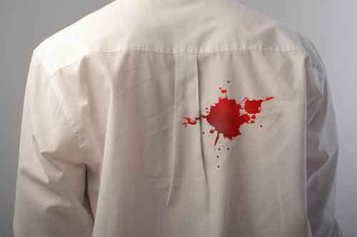 Altes Blut Aus Wäsche Entfernen